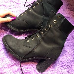 Black Timberland Boots for Women.